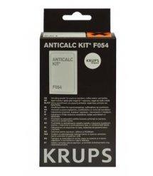 Набор для удаления накипи для кофеварок Krups F054001A (2 пакетика по 40г + 1 тест на жест. воды)