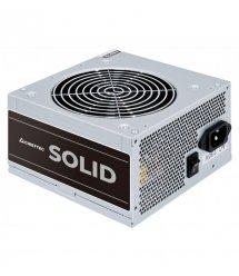 Блок питания CHIEFTEC Solid GPP-400S,12cm fan, a/PFC,24+4+4,3xPeripheral,5xSATA,1xPCIe