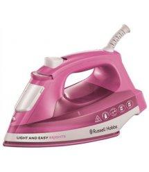 Утюг Russell Hobbs 25760-56 LIGHT AND EASY BRIGHTS, 2400 Вт, паровой удар 90 г, пар 30 г, розовый