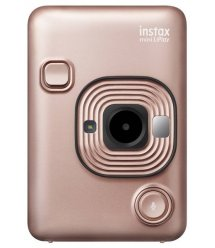 Фотокамера моментальной печати Fujifilm INSTAX Mini LiPlay Blush Gold
