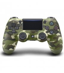 Геймпад беспроводной PlayStation Dualshock v2 Green Cammo