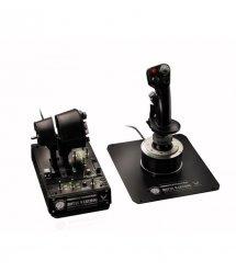Джойстик с рычагом управления двигателем для PC Thrustmaster Hotas Warthog