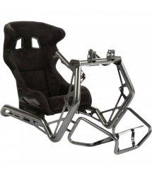 Кокпит с креплением для руля и педалей и стойкой для ТВ Playseat® Sensation PRO - Metallic