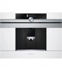 Встраиваемая кофемашина Siemens CT636LEW1 -19Бар/1600Вт/дисплей/белый