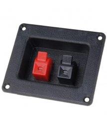 Зажим 2-pin JR6258A для динамика размер панели 42x42 мм