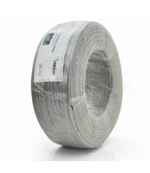 Телефонный кабель Merlion 4 жильный 28awg CCS 100м в бухте Серый