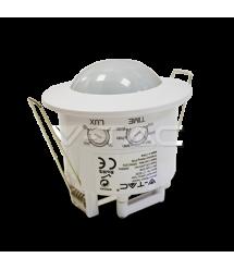 ИК датчик Движения и освещенности V-TAC, SKU-5090, 230V, 360°