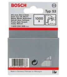 Bosch Скобы 14мм ТИП 53, 1000 шт