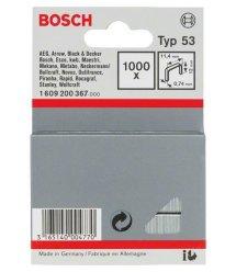 Bosch Скобы 12мм ТИП 53, 1000 шт
