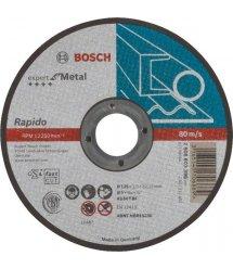 Отрезной круг Bosch Expert по металлу 125 х 1мм, прямой