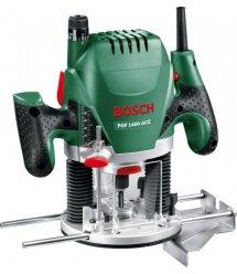 Фрезер Bosch POF 1400 + Набор 6 фрез, 1400Вт, 11000-28000 об/мин, 55мм, 3кг