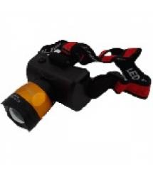 Налобный Фонарик Bailong BL-6966, Q5 Cree, 3 реж., Zoom, корпус- пластик, водостойкий, ударостойкий, 18650 аккумулятор СЗУ+ АЗУ,