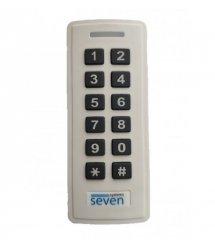 Контроллер + считыватель с кодовой клавиатурой SEVEN CR-7467w