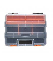 Пластмассовый переносной ящик для инструментов F-290 285х220х60мм