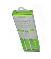 Кабель Bavin CB123 Micro-USB 2.4A 1.2m White