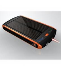 Power bank 23000 mAh Solar For Laptop, (5V / 200mA), 2xUSB, 5V / 1A / 2,1A, For Laptop charger, ударо защищеный прорезиненный ко