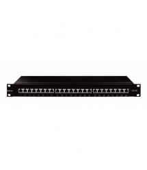 Патч-панель OK-net 24 порта Кат.5e FTP 90°