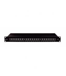 Патч-панель OK-net 24 порта Кат.6 UTP