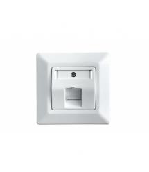 Лицевая панель OK-net 1 порт, white