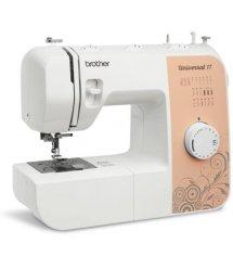 Швейная машинка Brother Universal 17, электромех., 20 швейных операций, 80 Вт, петля полуавтомат