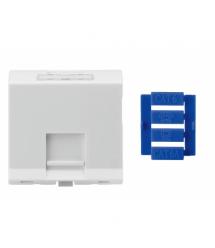 Модульная вставка OK-net 45х45 1 порт (OK-MI101)