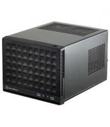 Корпус SilverStone SUGO SG13B, MiniITX, USB3.0*2,сетка (передняя панель),без БП,черный