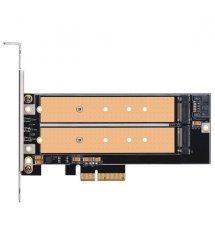 SilverStone Плата-адаптер PCIe x4 для SSD m.2 NVMe