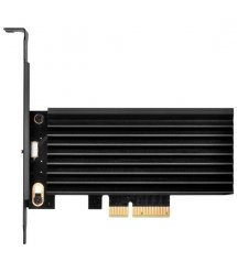 SilverStone Плата-адаптер PCIe x4 для SSD m.2 SATA + NVMe