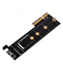 SilverStone Адаптер PCIe x4 для SSD m.2 NVMe