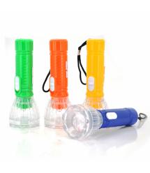 Карманный фонарик A544, 1LED, 1 режим,корпус - пластик, питание 3*LR41, Yellow, ОЕМ