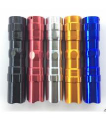 Карманный фонарик 5001-10, 1LED, 1 режим, корпус- алюминий, питание 2*АА, 95*19мм, Gold, ОЕМ