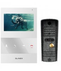 Комплект видеодомофон Slinex SQ-04_W+ML-16HR_A