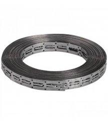 Стальная монтажная лента DEVIfast, оцинкованная, для крепления резистивных кабелей, бухта 5 м