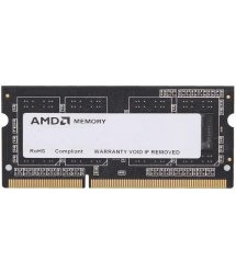 Память для ноутбука AMD DDR3 1600 4GB 1.35/1.5V SO-DIMM