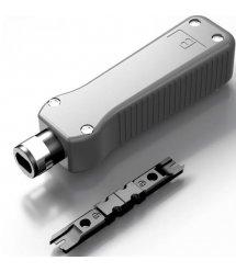 Инструмент HT-324 для заделки витой пары в кроссы патч-панели розетки модули с контактами типа: 88-110 IDC SLA