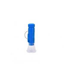 Карманный фонарик A544 1LED Пластик Blue