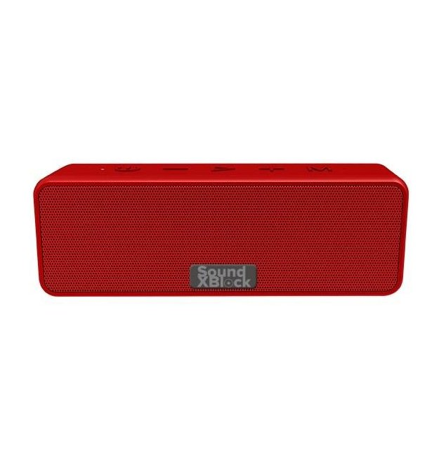 Акустическая система 2E SoundXBlock TWS, MP3, Wireless, Waterproof Red