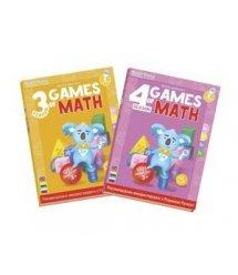 """Набор интерактивных книг Smart Koala """"Игры математики"""" (3,4 сезон)"""