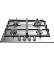 Варочная поверхность газовая Indesit THP641IX/I 4-конф/чугун/упр.фронт/механiчна/нерж.сталь