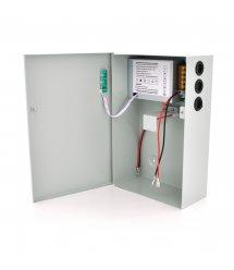 Импульсный источник бесперебойного питания PSU-5121 12V 5А, под АКБ 12V 7-9A+18-20А, Metal Box