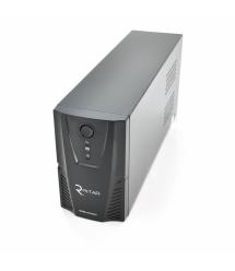 ИБП Ritar RTP850L-UX (510W) Proxima-L, LED, AVR, 3st, USB, 4xIEC-320 C14, 145-290Vac, 1x12V9Ah, plastik Case ( 314 x 97 X 143