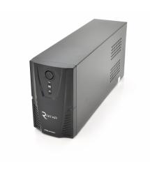 ИБП Ritar RTP650L-UX (390W) Proxima-L, LED, AVR, 3st, USB, 4xIEC-320 C14, 145-290Vac, 1x12V7Ah, plastik Case ( 314 x 97 X 143