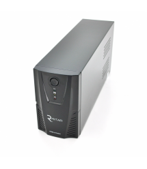 ИБП Ritar RTP600L-UX (360W) Proxima-L, LED, AVR, 3st, USB, 4xIEC-320 C14, 145-290Vac, 1x12V7Ah, plastik Case ( 314 x 97 X 143