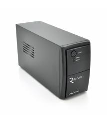 ИБП Ritar RTP500L-UX (300W) Proxima-L, LED, AVR, 3st, USB, 4xIEC-320 C14, 145-290Vac, 1x12V4.5Ah, plastik Case ( 314 x 97 X 1