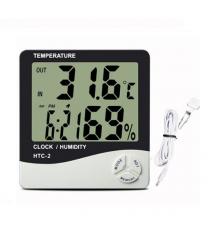 Цифровой ЖК термометр двухрежимный HTC-2