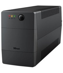 ИБП Trust Paxxon 800VA UPS with 2 standard wall power outlets BLACK