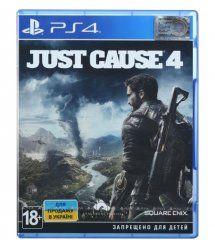 Игра PS4 Just Cause 4 Standard Edition [PS4, English version]