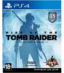 Игра PS4 Rise of the Tomb Raider [PS4, Russian version]