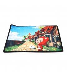 Коврик 250*210 тканевой Мультфильмы (в ассортименте), толщина 1,7 мм, цвет MIX, Пакет