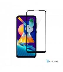 Защитное стекло 2E Basic для Samsung Galaxy M11 (M115F), 2.5D FCFG, black border